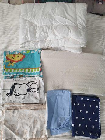 Pościel, kołdra dziecieca, zestaw do spania dla dziecka