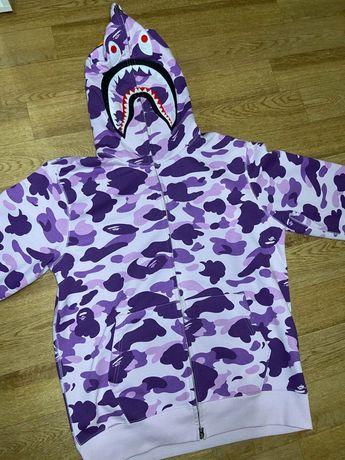 Bape Taipei 10th Anniversary Shark Full Zip Hoodie Худи Бэйп