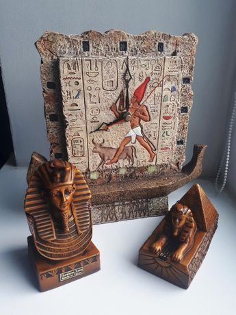 Сувениры Египет часы фараон сфинкс Ibrahim Zein Egypt статуэтка декор