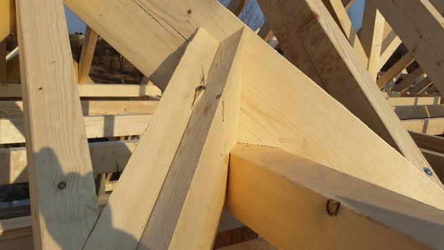 Więźba dachowa prefabrykowana CNC