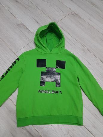 Zielona bluza z kapturem Minecraft 122