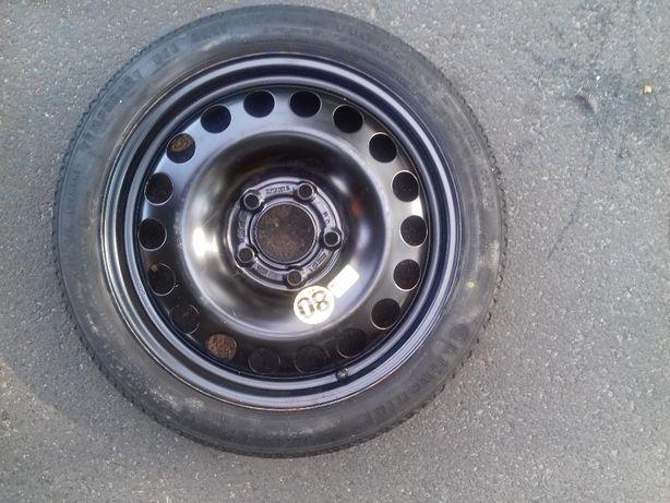 Dojazdówka,koło,zapas Opel Astra J,4 5x115,wkład z kluczem i lewarkie
