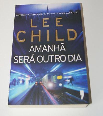"""Livro """"Amanhã será outro dia"""" Lee Child Novo"""