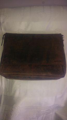 Cudna torba na ramię ze skóry bawolej cena w sklepie 1020 zł