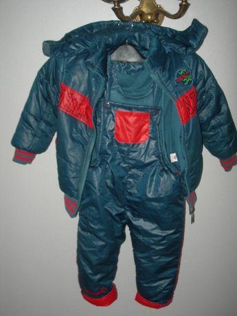 Комбинезон, куртка, штаны, зимний, на 3-5 лет