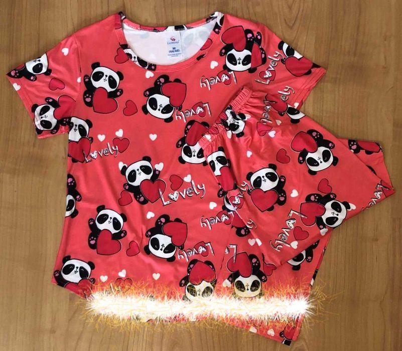 Піжами штани + футболка . Розмір XL.  Ціна 250 грн Черкассы - изображение 1
