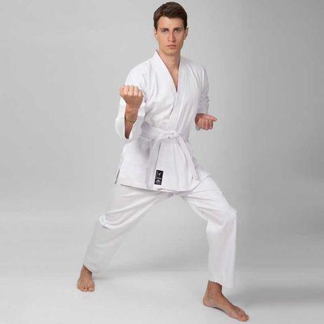 Кимоно для карате (каратэ) Matsa, хлопок, размер 110-190 см белый