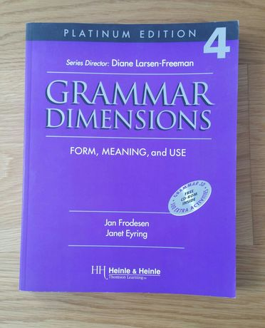 Grammar Dimensions 4 gramatyka języka angielskiego