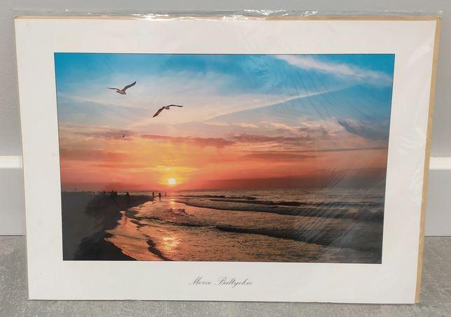 Pocztówka / karnet / kartka A4 z kopertą Morze Bałtyckie