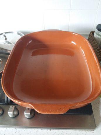 Tabuleiro cerâmica para forno