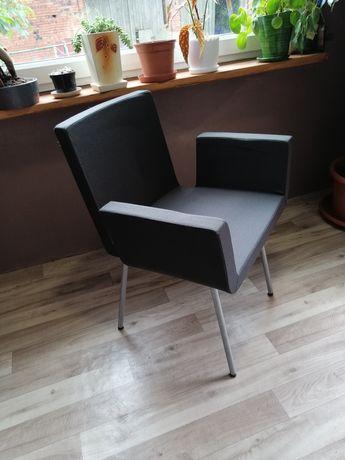 Krzesła szare, 6 szt