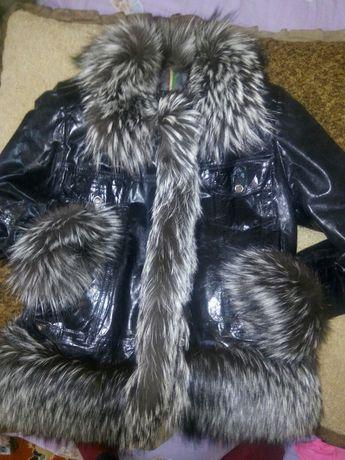 Куртка кожаная. Кожанка. Парка