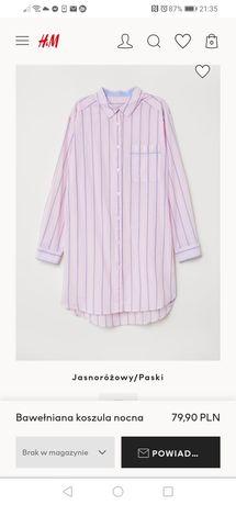Koszula nocna ciążowa h&m S