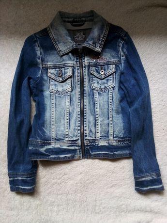 Джинс курточка для девочки 134 рост