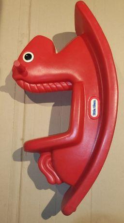 Little Tikes Czerwony konik na biegunach