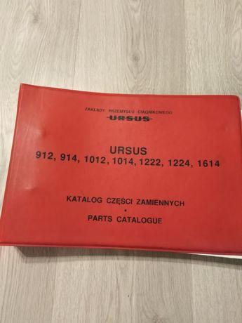 Katalog części zamiennych Ursus 912,914,1012,1014,1222,1224,1614