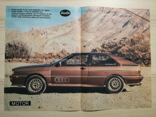 Plakat Poster Audi ur quattro Typ 81 33cm x 47,5cm 4x4 4WD R5 Unikat!