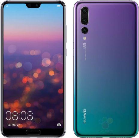 Huawei P20 niebieski jak NOWY-szkło gratis!