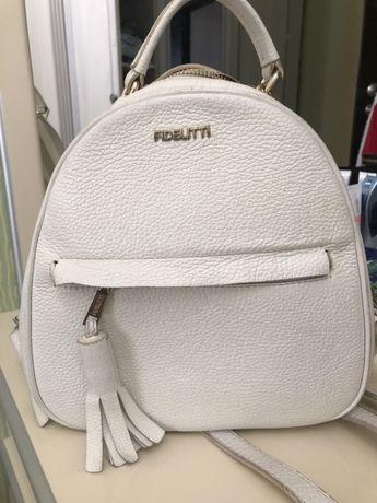 Рюкзак белый fidelitti