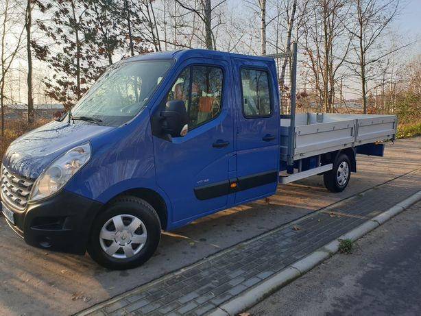 Renault Master brygadowy |7 osobowy| 38900 Netto