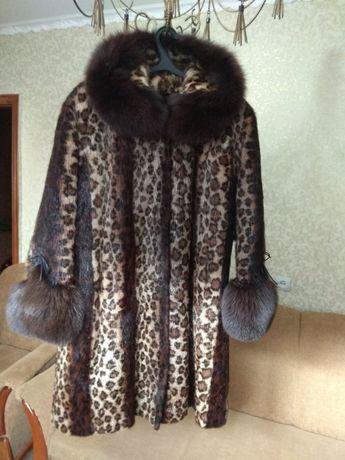 Шикарная шуба ,стриженная нутрия 54-56 размер