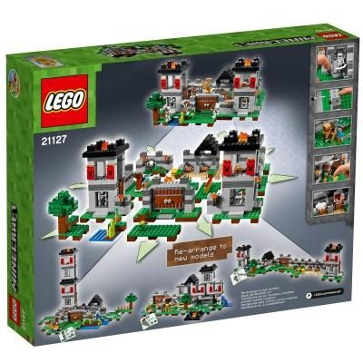 Конструктор LEGO Minecraft Фортеця (21127)