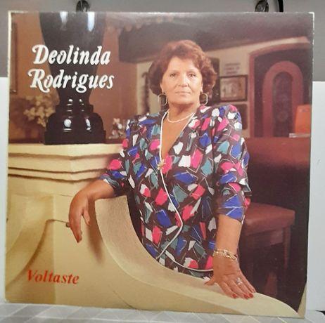 VINIL Lp Deolinda Rodrigues 1989 Portugal muito bom estado ver fotos