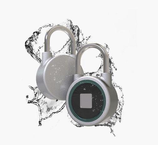 Aloquete por impressão digital ou Bluetooth! - A prova de água - 4 f
