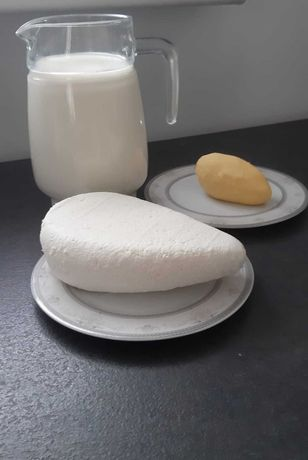 Sery mleko masło jajka