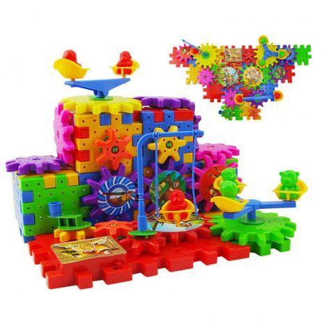 3D конструктор 81 деталь Funny Bricks развивающий. Пазлы