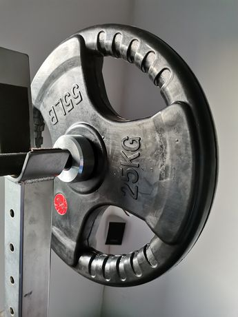 Obciazenie olimpijskie 25kg x 8
