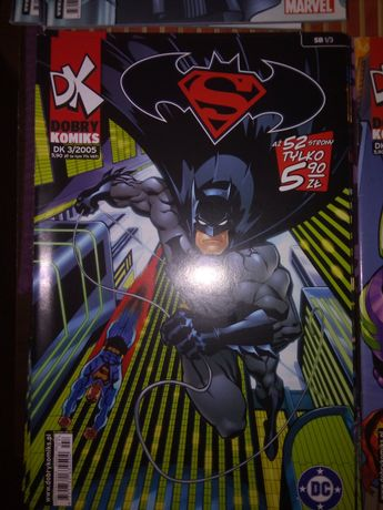 Super Men i Batman komiks DK nowy 2 części