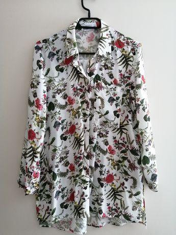 Koszula w kwiaty Reserved XS