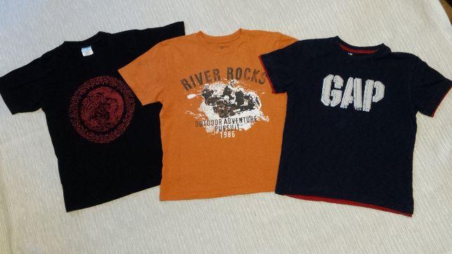 GAP Kids roz. 146, zestaw 3szt. koszulek, T-shirt
