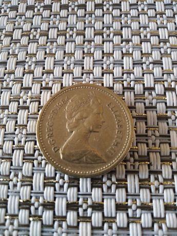Sprzedam monetę ONE POUND rok 1984