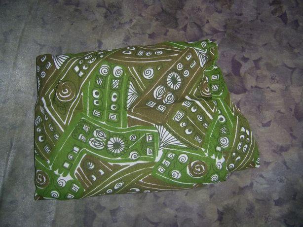 Отрез ткани искусственный шёлк 3,3 м*0,95 м. Новый.