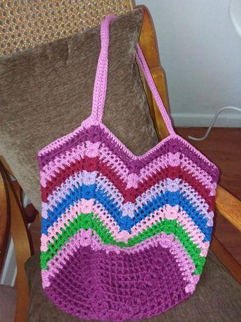 Malas crochet ecobags