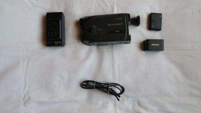 Używana kamera Philips M623/01 z ładowarką baterii+2 baterie za 70 zł