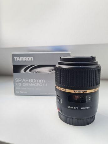 Tamron SP AF 60mm f2.0 Di II Macro 1:1 obiektyw bagnet Canon