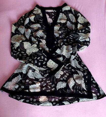 Zwiewna bluzeczka kimono Wiosenna r40