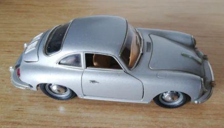 Porsche 356 B miniatura da Burago