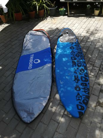 Prancha de surf 6 + saco de transporte