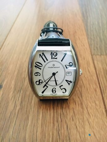 Швейцарские механические мужские наручные часы Claude Bernard