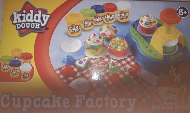Nowy zestaw do zabawy ciastolina + akcesoria do zabawy manualnej