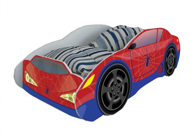 Łóżko dla dziecka samochód SPIDERMAN