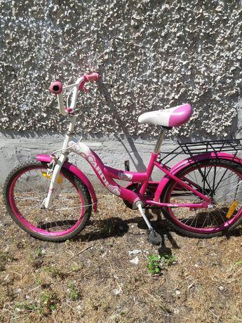 Велосипед для девочки 5- 9 лет