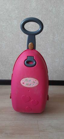 Smoby чемодан- ліжко- стільчик для годування