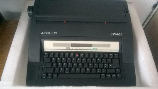 elektroniczna maszyna do pisania apollo cw-650