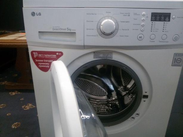 LG стиральная машина Direct Drive с прямым приводом б/у