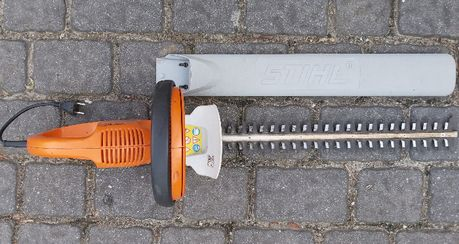 Stihl HSE 51 - elektryczne nożyce - uszkodzone
